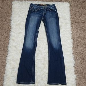 Sz 27L Jeans Stretch Remy Low Rise Big Star 27 L